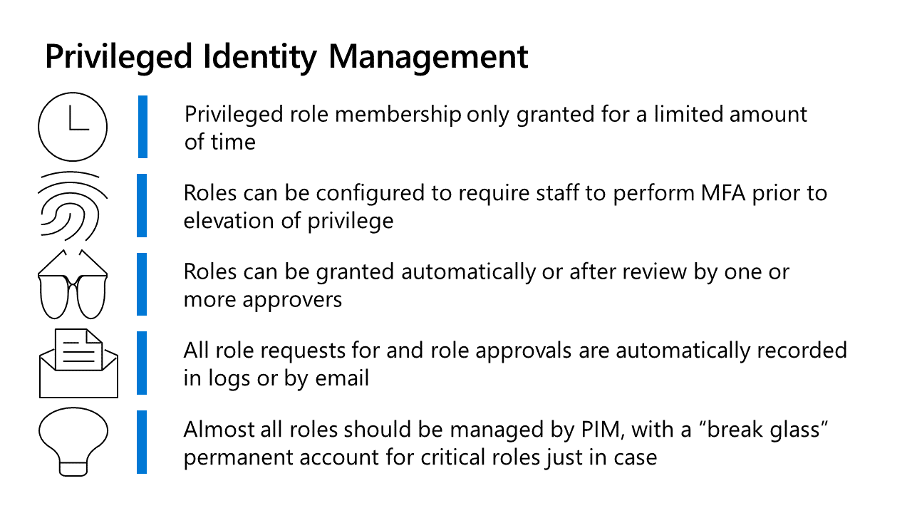 Privileged Identity Management